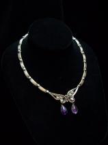 Margot de Taxco Vintage Mexican Silver Necklace 5344