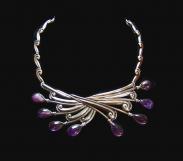 Margot de Taxco Vintage Mexican Silver Necklace 5146
