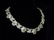 Mondragon Fertility Vintage Mexican Silver Necklace