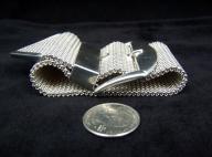 The Best Vintage Mexican Silver Buckle Bracelet Saul