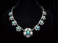 Margot de Taxco Turquoise Vintage Mexican Bracelet