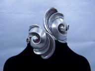 Gerardo Lopez Vintage Mexican Silver Bracelet / Clamper