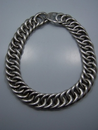 William Spratling Huge Mexican Silver Chain Necklace