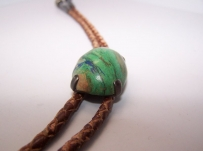 Hector Aguilar Gorgeous Stone Bola Tie Necklace