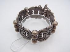 Vintage Hector Aguilar Mexican Silver Bracelet Taxco