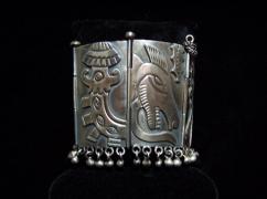 Doris Silver Vintage Mexican Casabells Bracelet