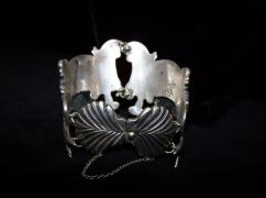 Los Castillo Fish Bubbles Mexican Silver Bracelet