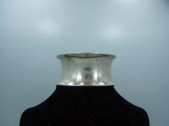 Vintage Mexican Silver Modernist Rancho Alegre Cuff
