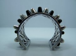 Antonio Pineda Gladiator Vintage Mexican Silver Cuff