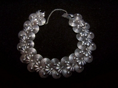 Hector Aguilar Vintage Mexican Silver Bracelet