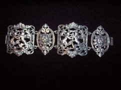 The BEST Silver Cherub Bracelet Ever by Cini HUGE!