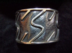 Vintage Mexican Silver Bracelet/Cuff by Lico