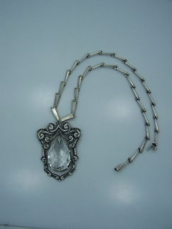 Margot de Taxco 5783 Vintage Mexican Silver Necklace