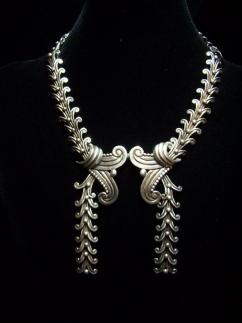 Margot de Taxco 5158 Vintage Mexican Silver Necklace