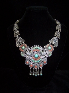 Really Real Matl Matilde Poulat Mexican Silver Necklace