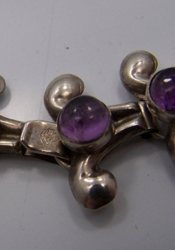 Fred Davis Design Eagle 22 Vintage Mexican Necklace