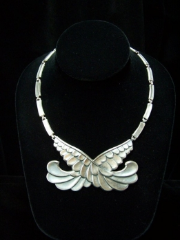 Margot de Taxco Design 5790 Vintage Mexican Silver Set