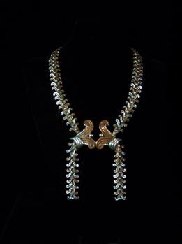 Margot de Taxco 5102 Mexican Silver Necklace RARE
