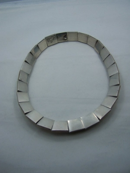 Antonio Pineda Vintage Mexican Silver Necklace
