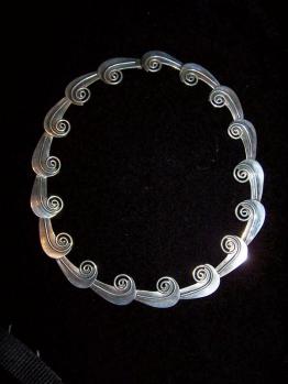 Taxco 980 Vintage Mexican Silver Necklace