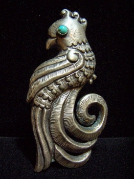 Matilde Poulat Vintage Mexican Silver Brooch Matl