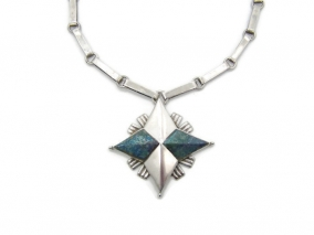William Spratling Vintage Mexican Silver Star Necklace