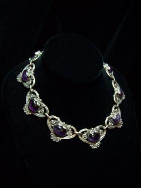 Margot de Taxco 5213 Vintage Mexican Silver Necklace
