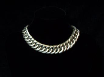 Spratling Vintage Mexican Silver Huge Chain Necklace