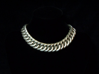 Spratling Vintage Mexican Silver Huge Chain Necklace