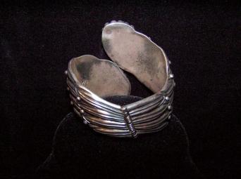Margot de Taxco Cornflower Bracelet Mexican Silver