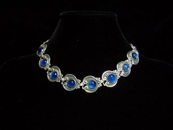 Margot de Taxco Vintage Mexican Silver Necklace