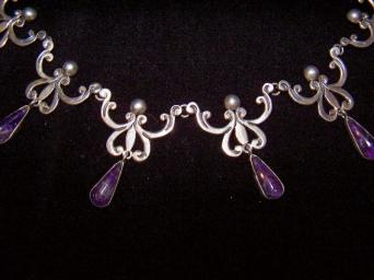Vintage Spratling/Conquistador Necklace & Mex Silver Br