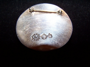 Antonio Pineda Vintage Mexican Silver Pin/Brooch
