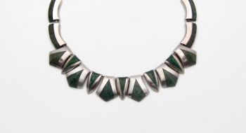 Ledesma Vintage Mexican Silver Gemstone Necklace