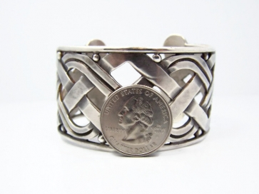 Hector Aguilar X O Vintage Mexican Silver Bracelet