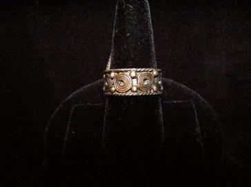 Carmen Beckmann Mexican Silver Vintage Ring
