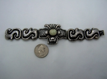 Old Mexico City Vintage Mexican Bracelet Matl Style