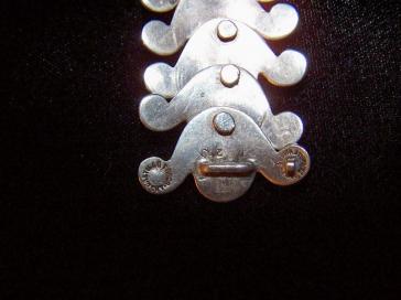 Vintage Mexican Silver Los Castillo Bracelet
