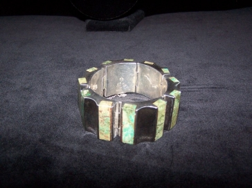 Ledesma Mexican Vintage Silver Bracelet
