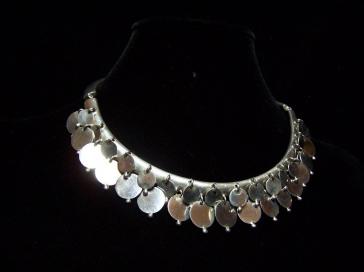 William Spratling Vintage Mexican Silver Disc Necklace