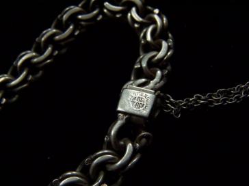Far Fan Vintage Mexican Silver Stone Charm Bracelet