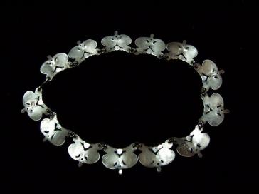 Los Castillo Vintage Mexican Silver Necklace #543