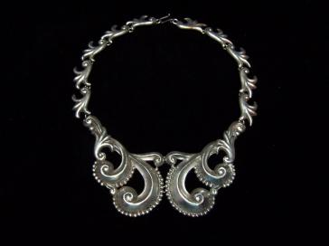 Gerardo Lopez Vintage Mexican Silver 980 Necklace