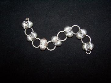 Coco Link Vintage Mexican Silver Bracelet 980 Taxco