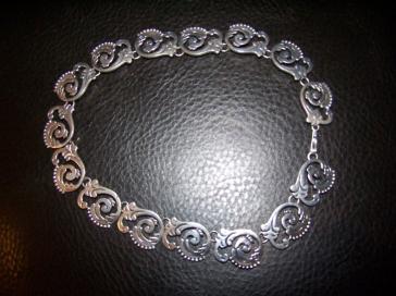 Rancho Viejo Rubi Ramirez Mexican Silver Necklace Taxco