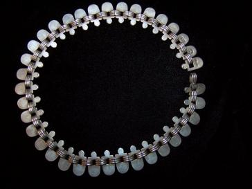 Hector Aguilar Vintage Mexican Silver Necklace