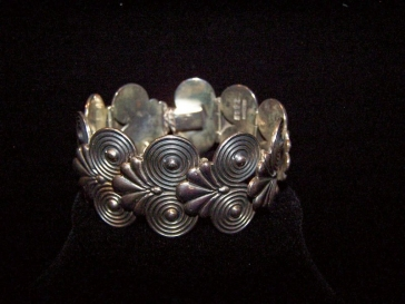 Reproduction Margot de Taxco Bracelet Mexican Silver