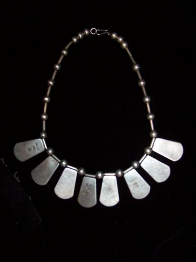 Rafael Dominguez Vintage Mexican Silver Necklace