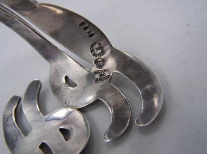 Margot de Taxco 5676 Mexican Silver Clamper Bracelet