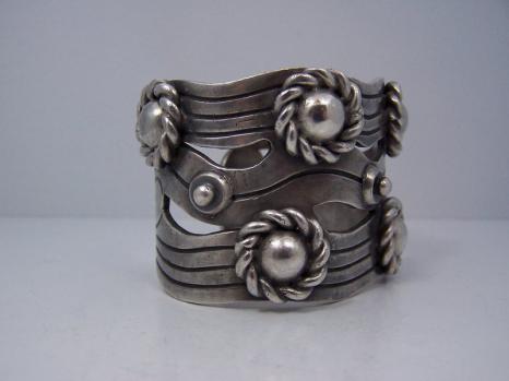 William Spratling River of Life Mexican Silver Bracelet